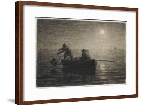 Les P�eurs-Jean-Fran?ois Millet-Framed Art Print