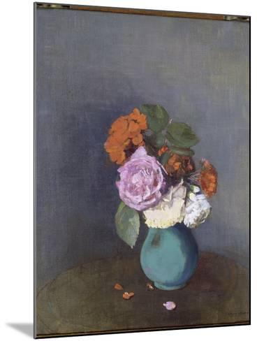Fleurs-Odilon Redon-Mounted Giclee Print
