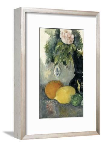 Fleurs et fruits-Paul C?zanne-Framed Art Print