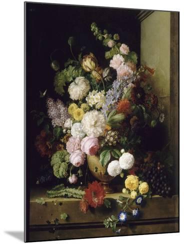 Fleurs et raisins-Antoine Chazal-Mounted Giclee Print