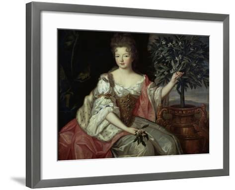 Françoise Marie de Bourbon, duchesse d'Orléans-Pierre Gobert-Framed Art Print