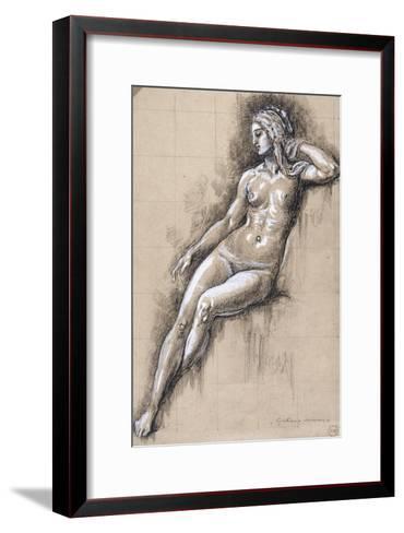 Galatée-Gustave Moreau-Framed Art Print
