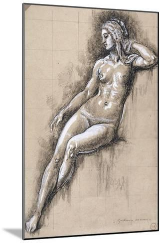 Galatée-Gustave Moreau-Mounted Giclee Print