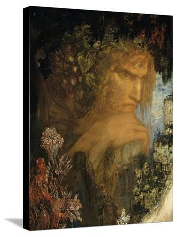 Galatée-Gustave Moreau-Stretched Canvas Print