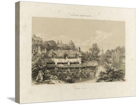 Galerie armoricaine, Vannes (Morbihan)--Stretched Canvas Print