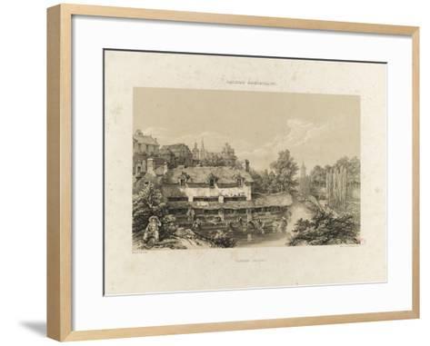 Galerie armoricaine, Vannes (Morbihan)--Framed Art Print