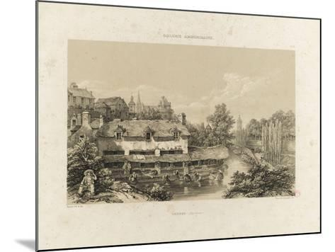 Galerie armoricaine, Vannes (Morbihan)--Mounted Giclee Print