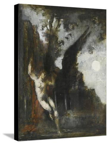 Ganymède-Gustave Moreau-Stretched Canvas Print