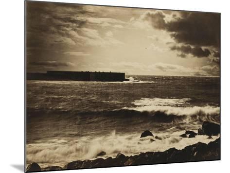 Grande vague, Sète - n°17-Gray Gustave Le-Mounted Giclee Print