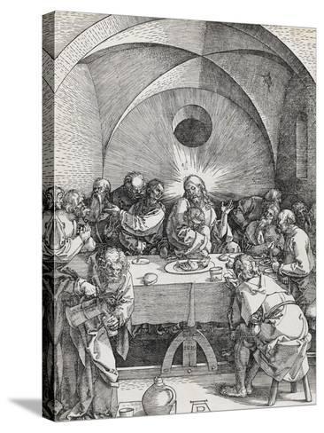 Grande passion - La Cène-Albrecht D?rer-Stretched Canvas Print