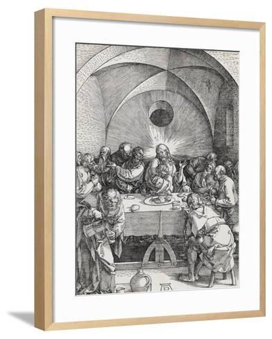 Grande passion - La Cène-Albrecht D?rer-Framed Art Print
