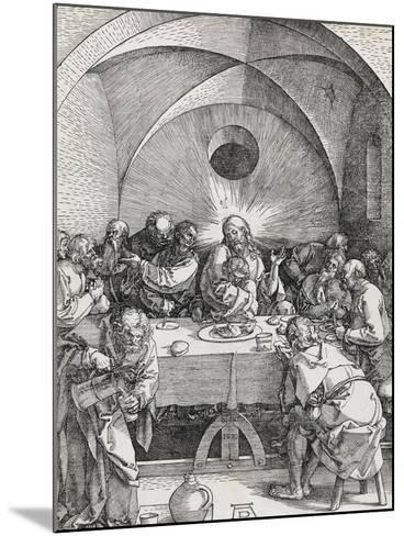 Grande passion - La Cène-Albrecht D?rer-Mounted Giclee Print