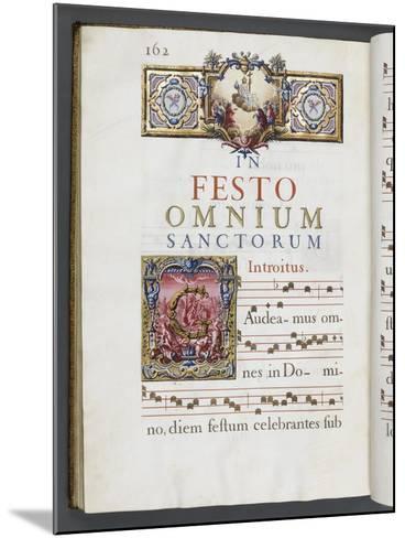 Graduale romanum, exécuté par P. Louis Blouin:-J.B. de Bray-Mounted Giclee Print