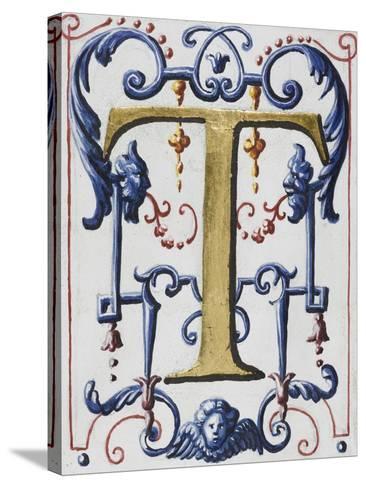 Graduale romanum, exécuté par P. Louis Blouin:-J.B. de Bray-Stretched Canvas Print