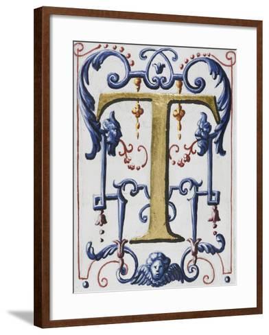 Graduale romanum, exécuté par P. Louis Blouin:-J.B. de Bray-Framed Art Print