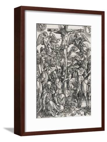 Grande passion - La crucifixion-Albrecht D?rer-Framed Art Print