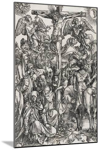 Grande passion - La crucifixion-Albrecht D?rer-Mounted Giclee Print