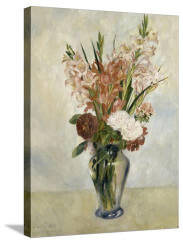 Glaïeuls-Pierre-Auguste Renoir-Stretched Canvas Print