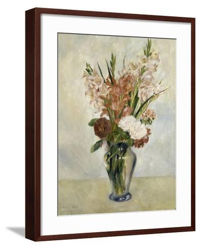 Glaïeuls-Pierre-Auguste Renoir-Framed Art Print