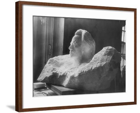 Gustave Mahler-Auguste Rodin-Framed Art Print