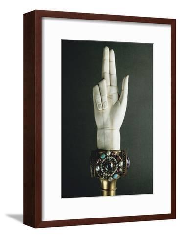 Main de Justice-Martin-Guillaume Biennais-Framed Art Print