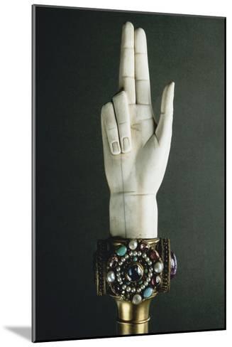 Main de Justice-Martin-Guillaume Biennais-Mounted Giclee Print