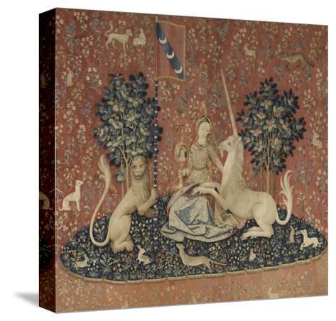 Tenture de la Dame ? la Licorne : la Vue--Stretched Canvas Print