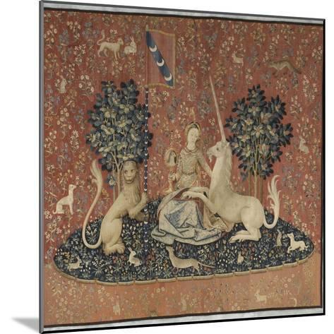 Tenture de la Dame ? la Licorne : la Vue--Mounted Giclee Print