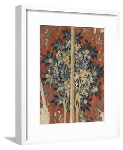 Tenture de la Dame ? la Licorne : A mon seul d?sir--Framed Art Print