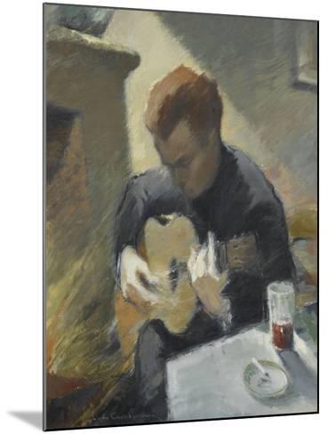 Le guitariste--Mounted Giclee Print