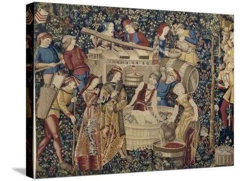 Les Vendanges--Stretched Canvas Print