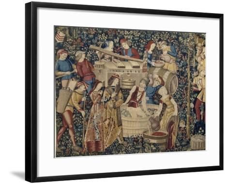 Les Vendanges--Framed Art Print