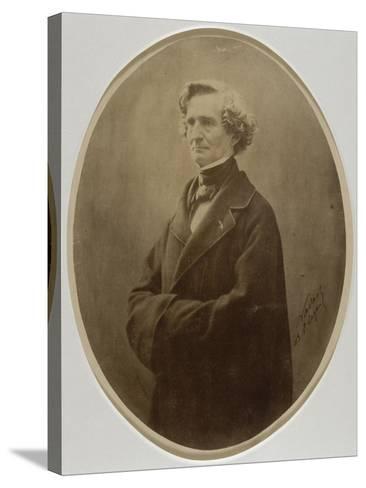 Berlioz Hector, compositeur (1803-1869)-Gaspard Félix Tournachon-Stretched Canvas Print