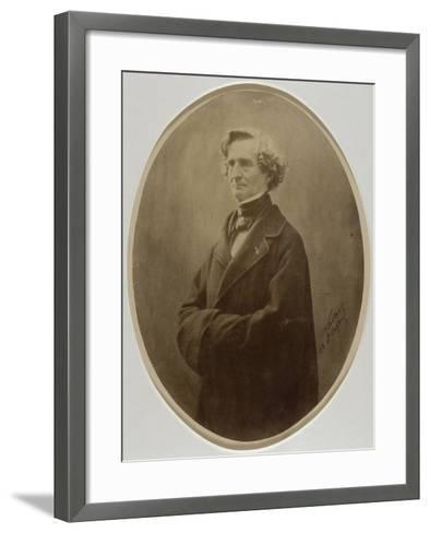 Berlioz Hector, compositeur (1803-1869)-Gaspard Félix Tournachon-Framed Art Print