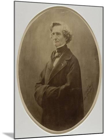 Berlioz Hector, compositeur (1803-1869)-Gaspard Félix Tournachon-Mounted Giclee Print