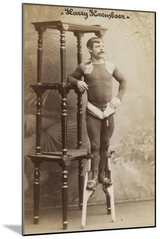 Harry Krembser--Mounted Giclee Print