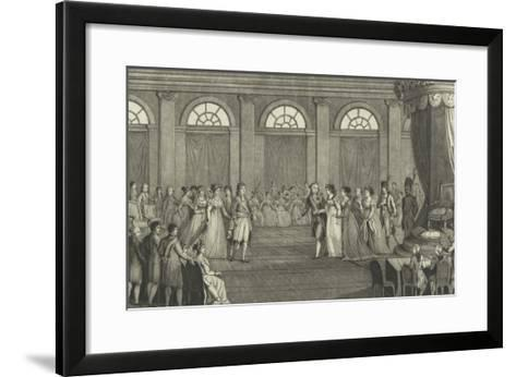 Her Majesty the Empress Marie Louise, Queen of Italy--Framed Art Print