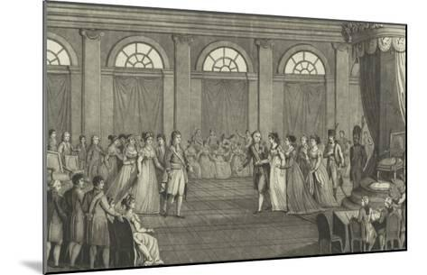 Her Majesty the Empress Marie Louise, Queen of Italy--Mounted Giclee Print