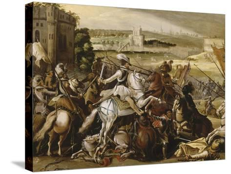 Henry Iv at the Battle of Arques, September 21, 1589--Stretched Canvas Print