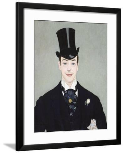 Henri Samary-Louis Anquetin-Framed Art Print