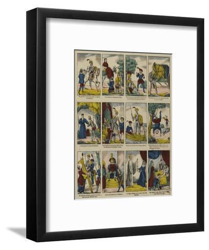 Histoire de don Quichotte--Framed Art Print