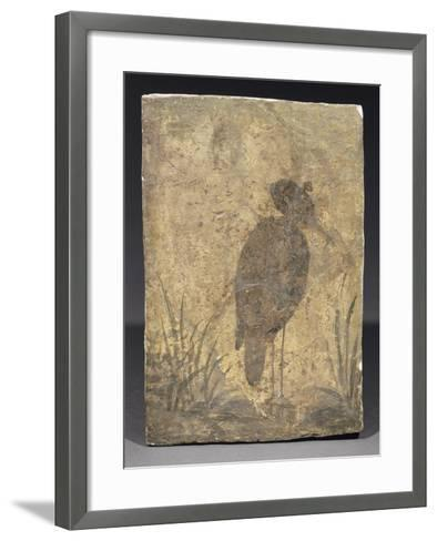 Héron--Framed Art Print