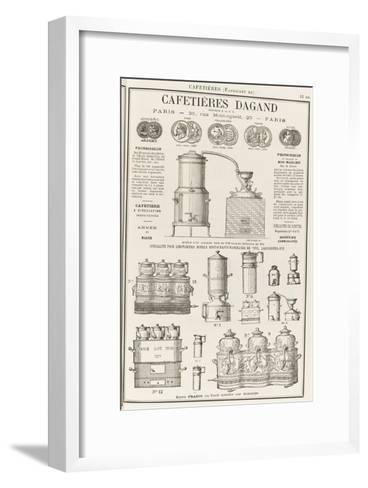 Album illustré de l'Almanach Didot-Bottin : Fabricant de cafetière Dagand--Framed Art Print
