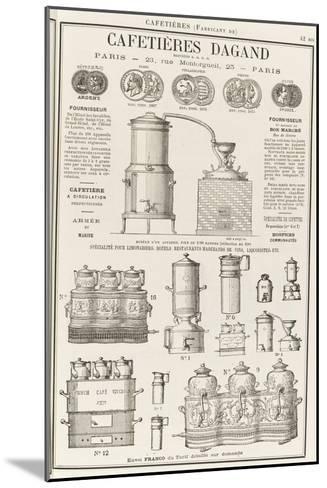 Album illustré de l'Almanach Didot-Bottin : Fabricant de cafetière Dagand--Mounted Giclee Print