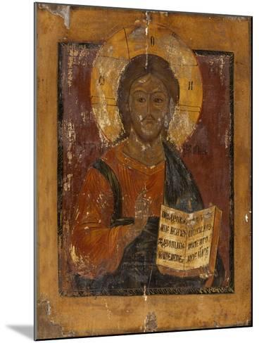Icône : Christ bénissant--Mounted Giclee Print