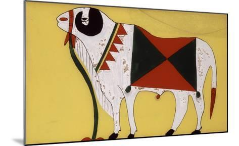 "Aries ""Decorated"" for the Sacrifice of the Tabaski--Mounted Giclee Print"