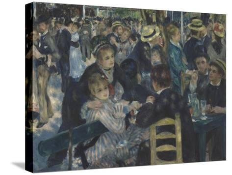 Bal du Moulin de la Galette, Montmartre-Pierre-Auguste Renoir-Stretched Canvas Print