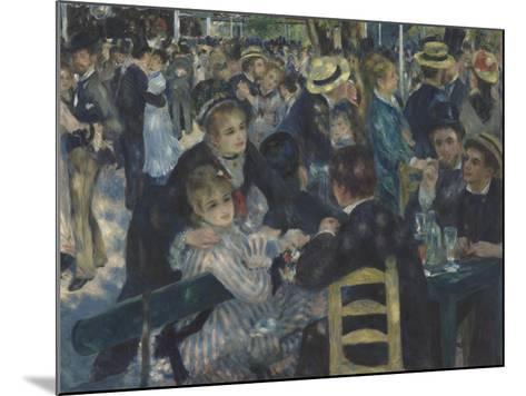 Bal du Moulin de la Galette, Montmartre-Pierre-Auguste Renoir-Mounted Giclee Print