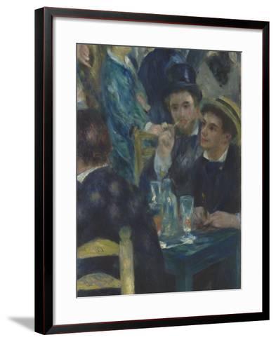 Bal du Moulin de la Galette, Montmartre-Pierre-Auguste Renoir-Framed Art Print