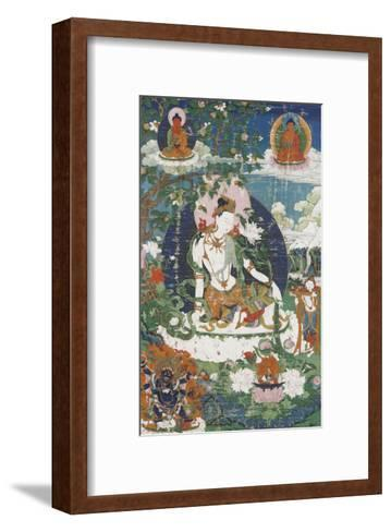 Avalokitesvara, sous son aspect Padmap?ni--Framed Art Print
